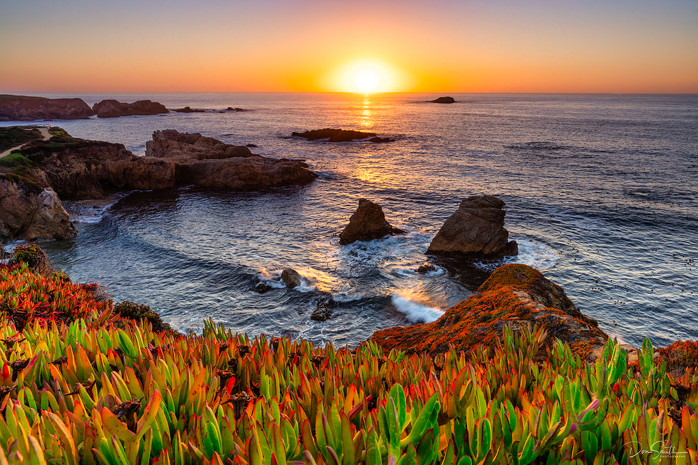 Big Sur Coast Sunset, California