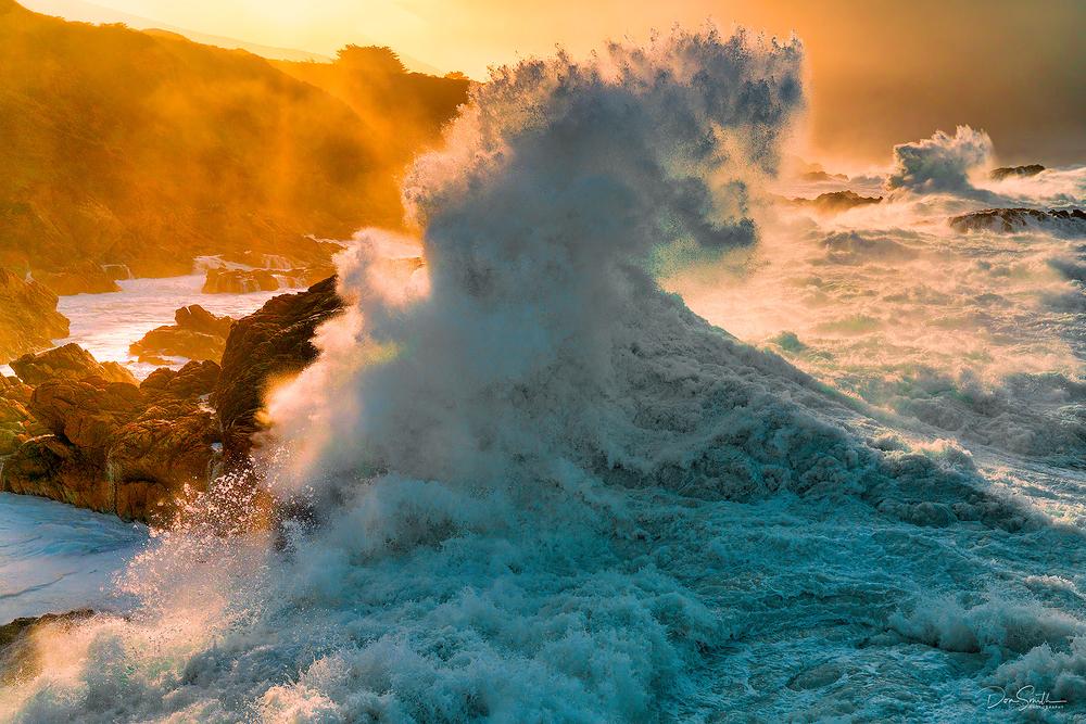 King Tides, Big Sur Coast, California