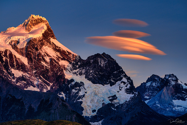 Lenticular Clouds, Torres del Paine NP, Chile