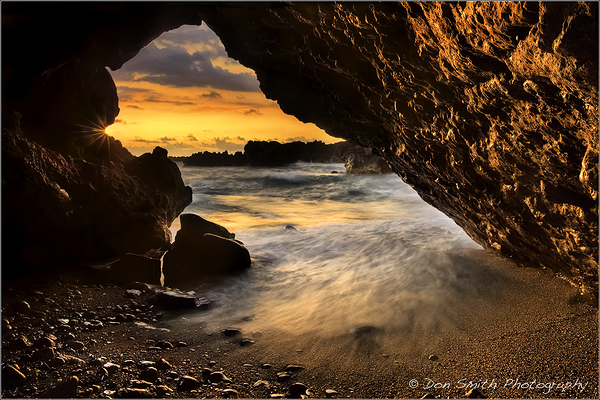 Maui Morning Inside a Lava Portal