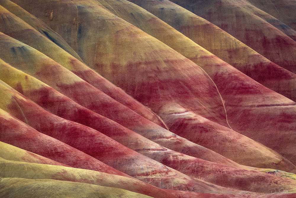 Layers of Painted Hills, Oregon