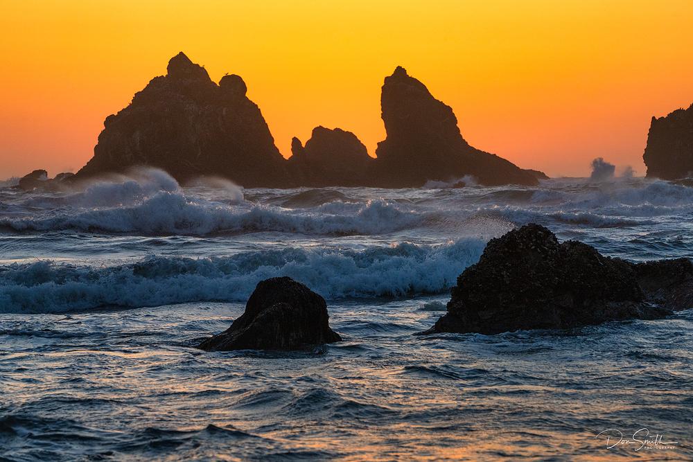 Bandon Beach Sunset, Bandon, Oregon