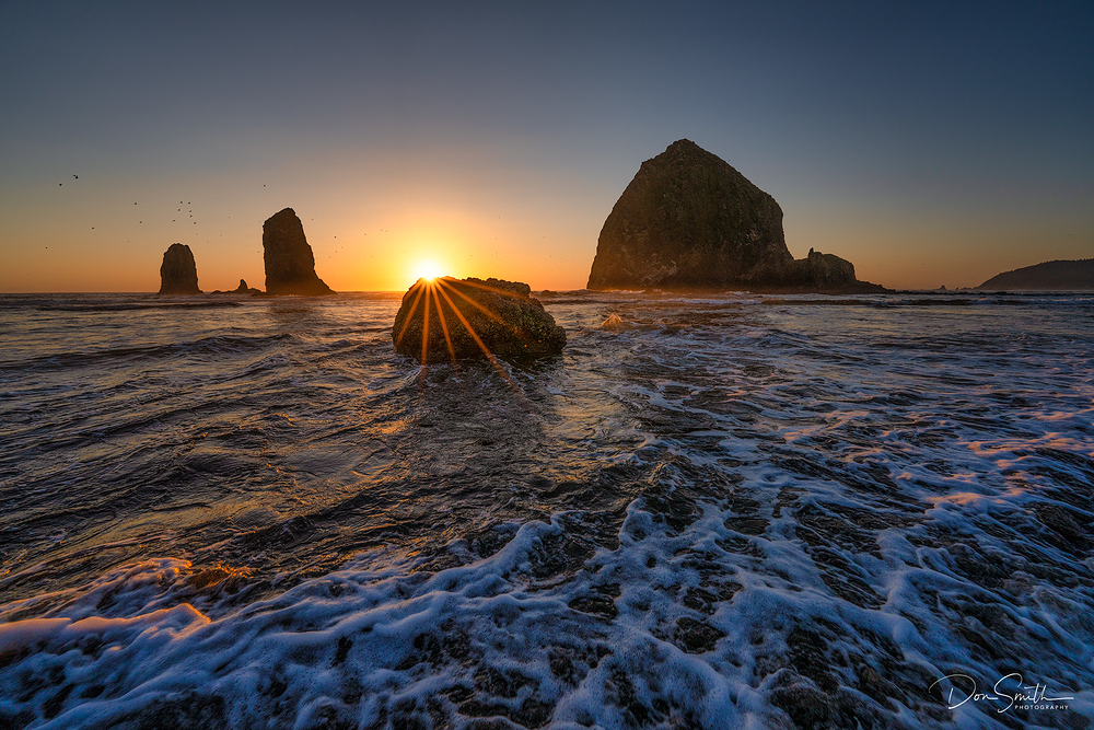 Cannon Beach Sunset, Sony 14mm f/1.8