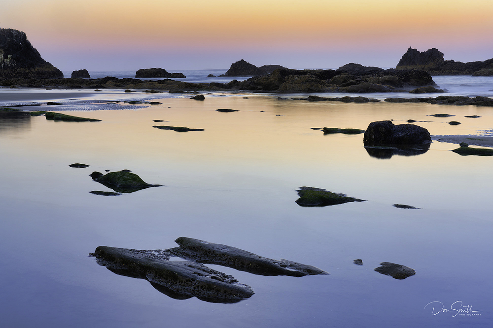 Dawn Light at Seal Beach SP, Newport, Oregon