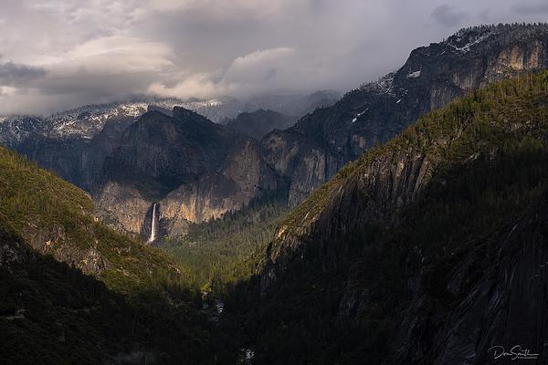 Mountain Light on Bridalveil Fall, Yosemite