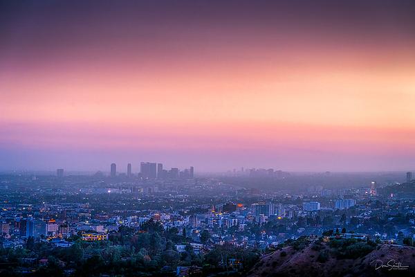 Dusk Sky Over Los Angeles