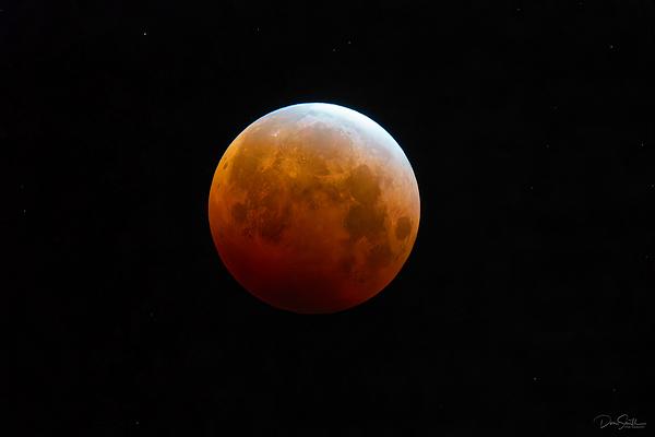 Super Blood Flower Moon Extreme Tele, California