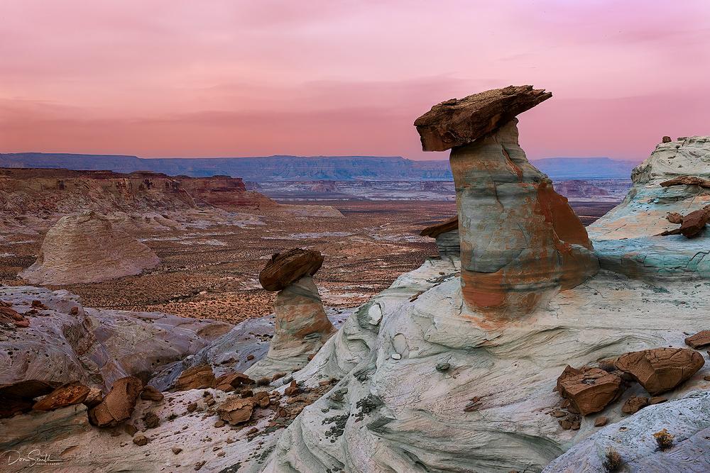 Pedestal Rocks, Stud Horse Point, Arizona