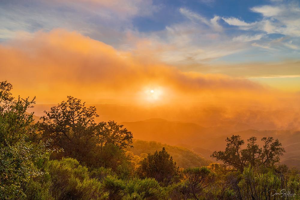 Summer Fog Over Monterey Bay