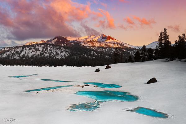Sierra-Nevada Spring Sunset
