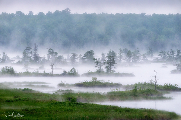 Early Morning Mist, Madeline Island, Wisconsin
