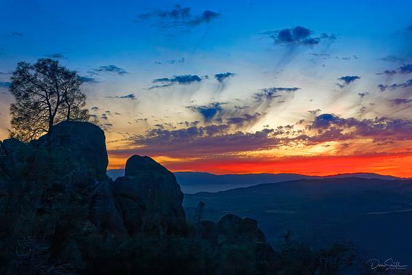 painted Sky at Dusk, Pinnacles National Park, CA