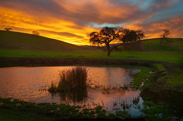 Daen Sunrise, San Benito County, California