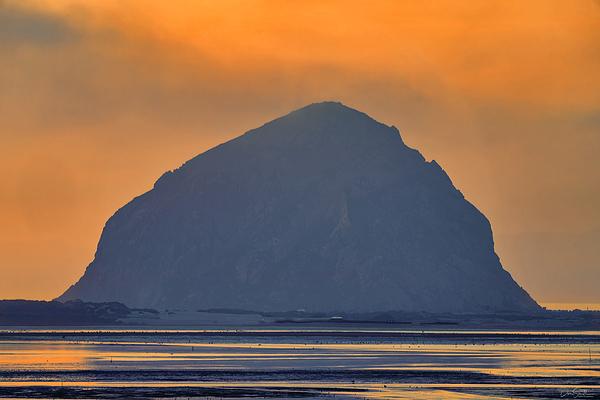 Morro Bay Sunset, California