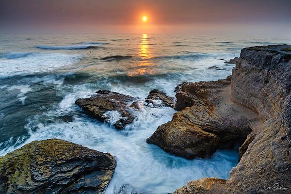 Montana de Oro State Park Sunset, California