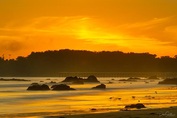 Big Sur Sunset, San Simeon, California