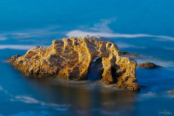 Sea Arch in Spooner's Cove, Central Coast, CA