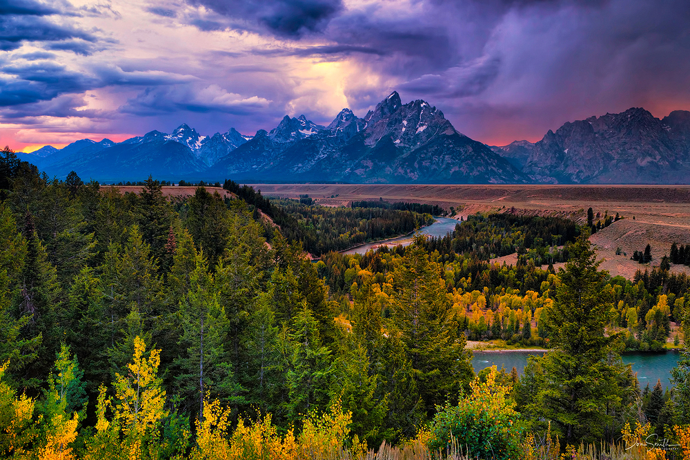 Grand Teton NP Snake River Overlook, Wyoming