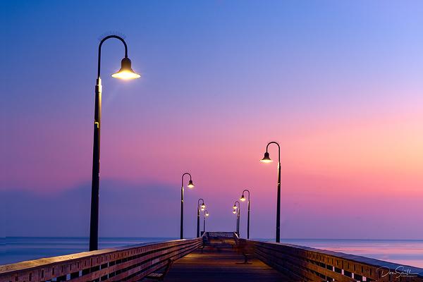Cayucos Pier at Dusk, Central Coast, California