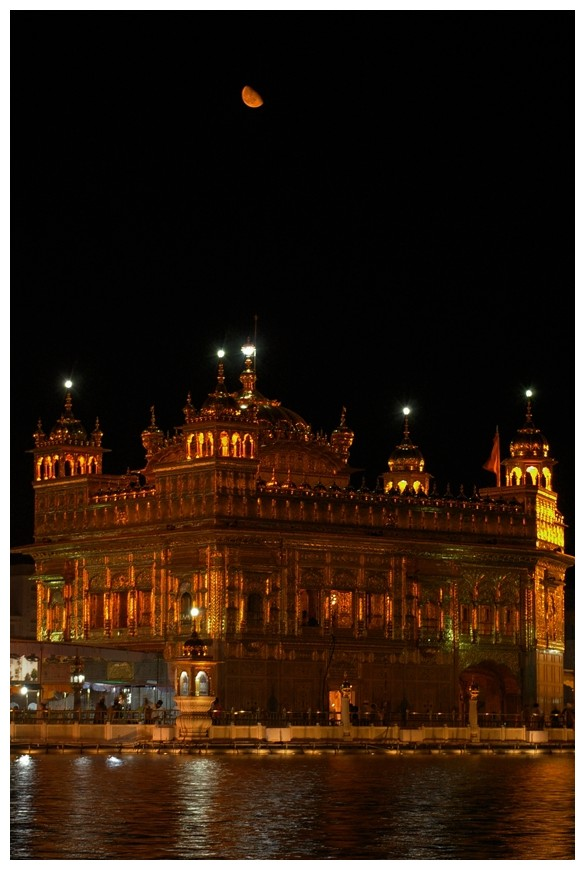 Golden Temple and Golden Moon ...