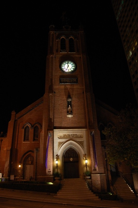 Early for Midnight Mass