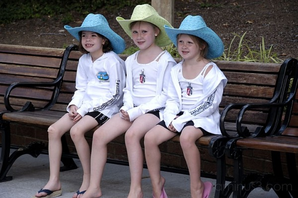 Three Cowgirls