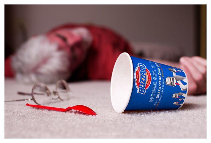 Overdose on ice cream