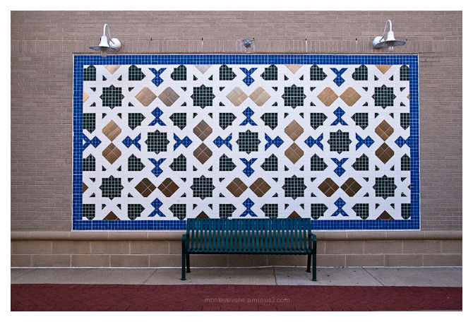 Bench and Mosaic