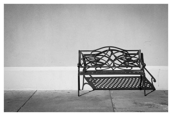 Bench and Shadows