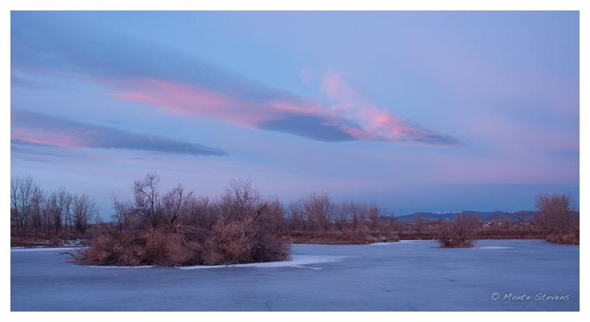 Soft Subtle Colors of the Sunrise