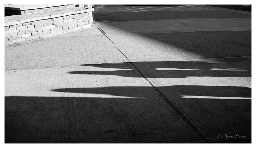 Early Shadows at Morgan Library