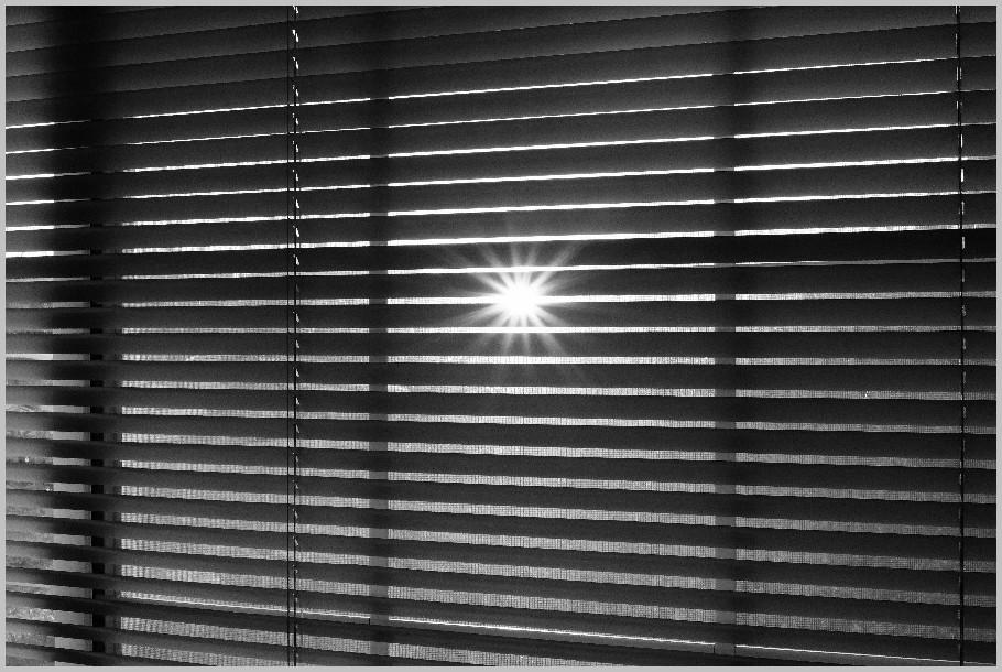 Sunrise Through My Window