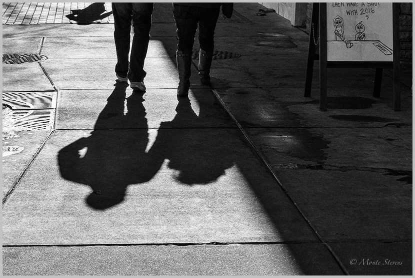 Shadows Following Closely