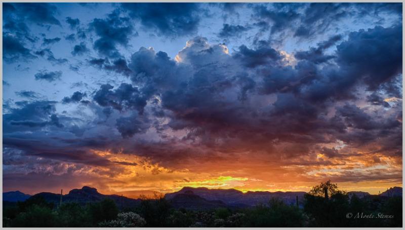 Sunrise on Peralta Trail #2