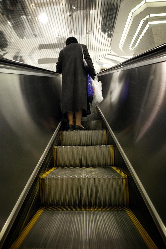 Lady Escalator