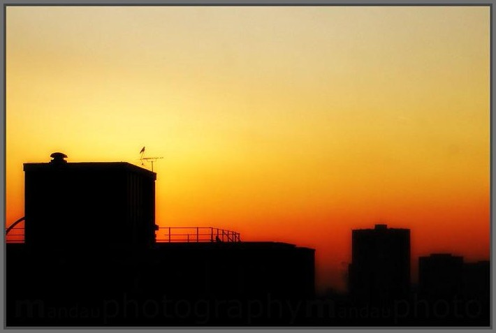 ordinary sunset   manchester