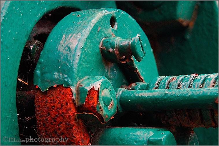 modest | a part of old steam machine