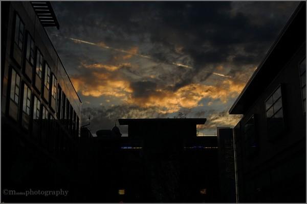 sunset | market st., manchester
