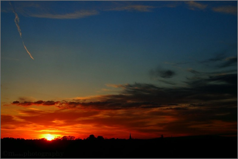 a rare sunset | salford