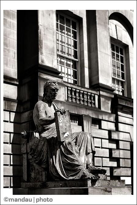 Statue of Hume | Royal Mile, Old Town, Edinburgh