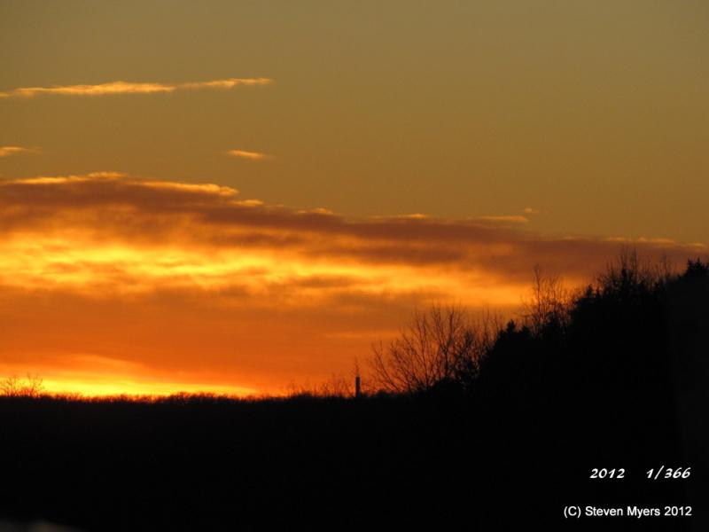 1st Sunset of 2012