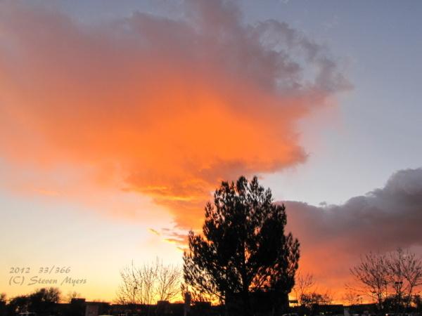 33/366 Sunset