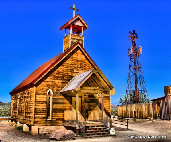 41/366 Goldfield Ghost Town Church