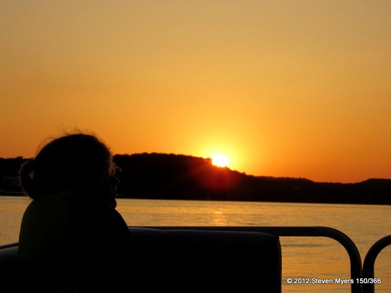 150/366 Sunset Silhouette
