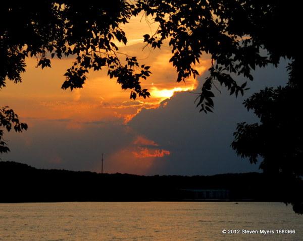 168/366 Sunset