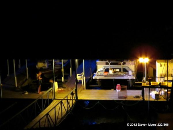 222/366 Late Night Fisherman