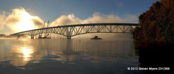 231/366 Morning Fog at the Lake