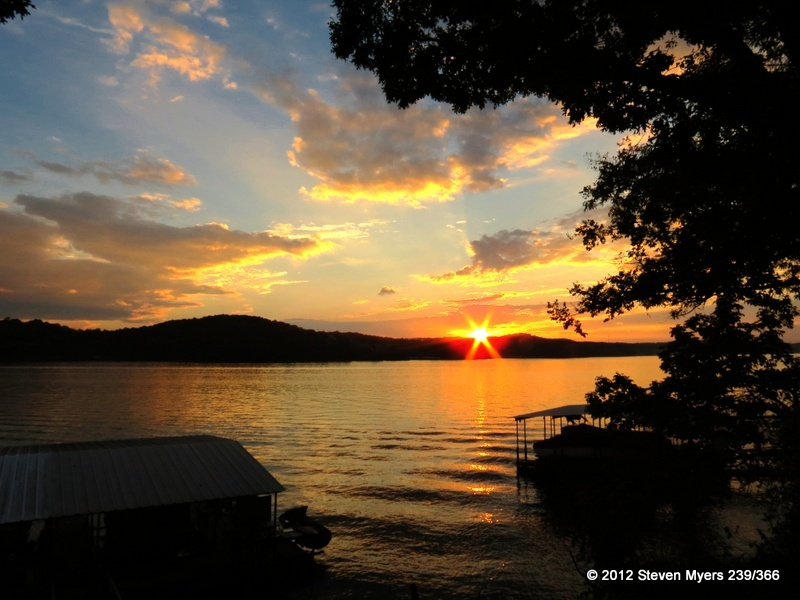 239/366 Sunset-Close of day...