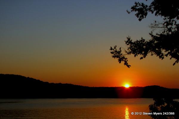 242/366 Sunset