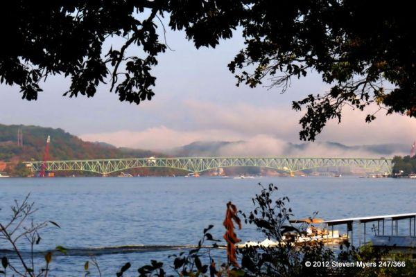 247/366 Fog and the Bridge
